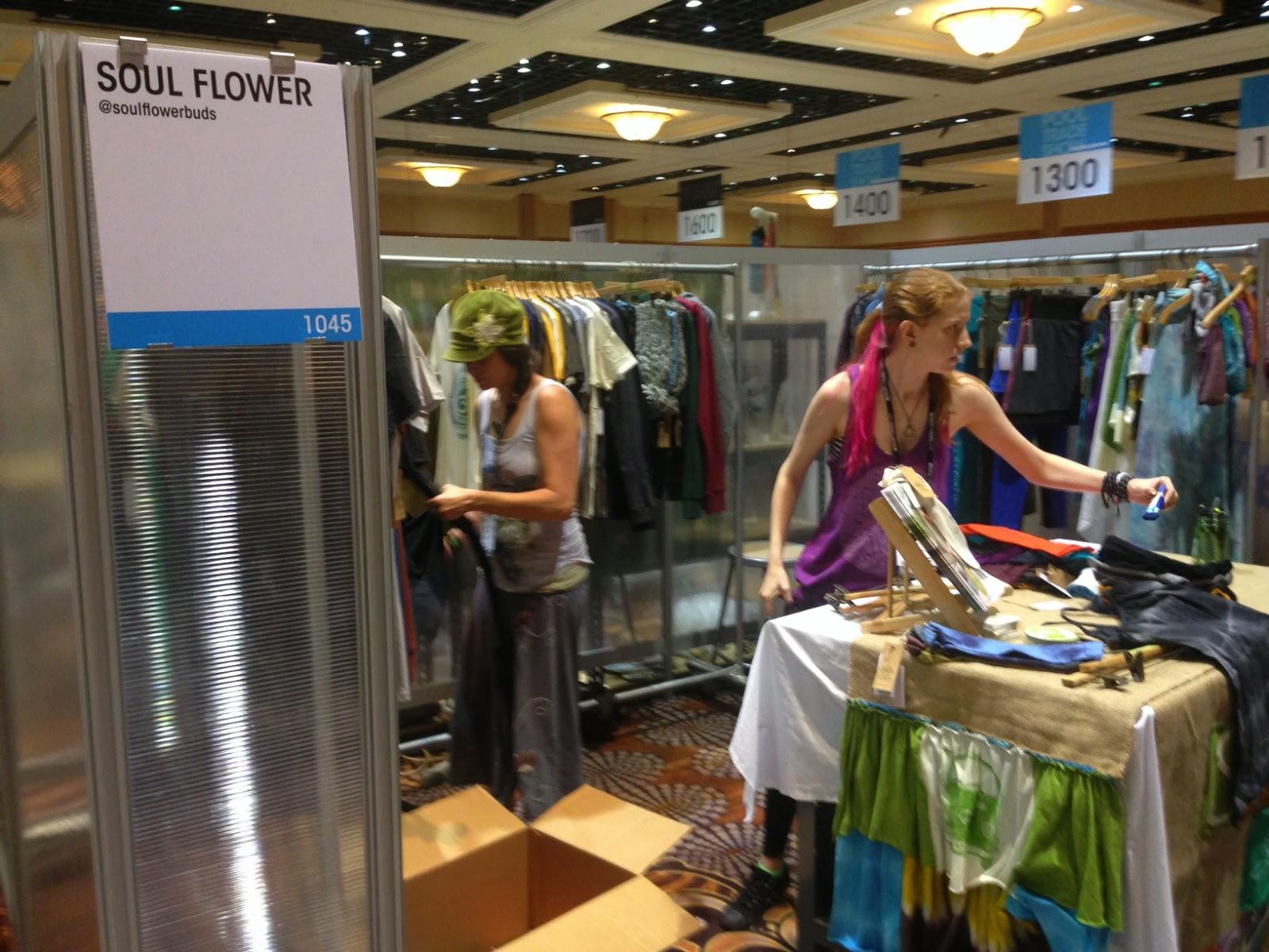 vegas+pool+soul+flower - Soul Flower Booth at POOL in Las Vegas