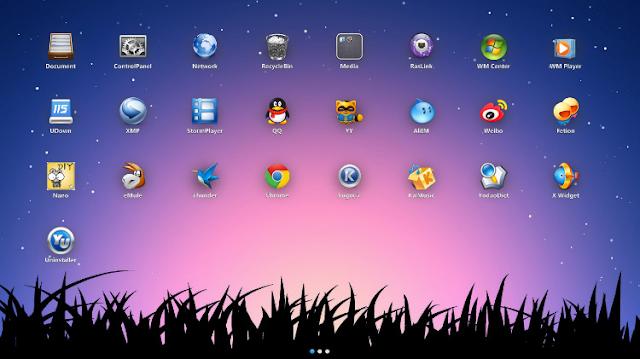 Xlaunchpad mempercantik desktop windows