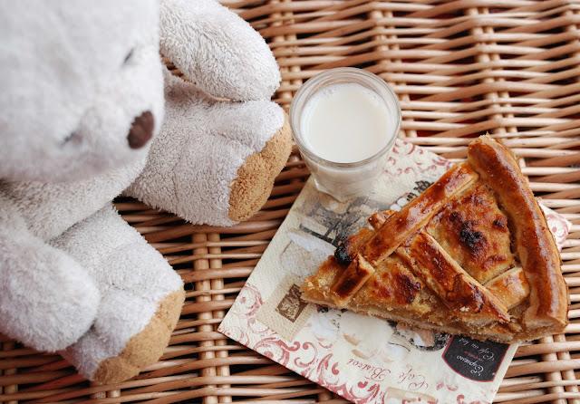 recette tarte anglaise caramel