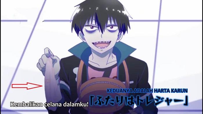 Blood Lad Episode 8 Subtitle Indonesia