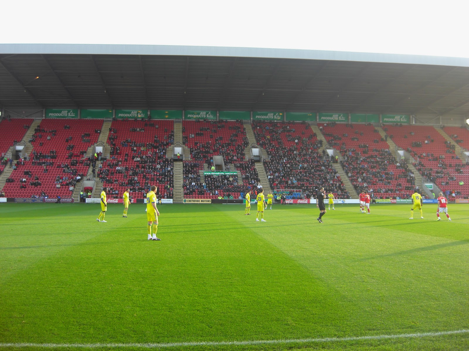 Groundhopper United 2011 Stadium 78 Gresty Road