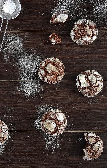 biscotti al cioccolato / chocolate biscuits