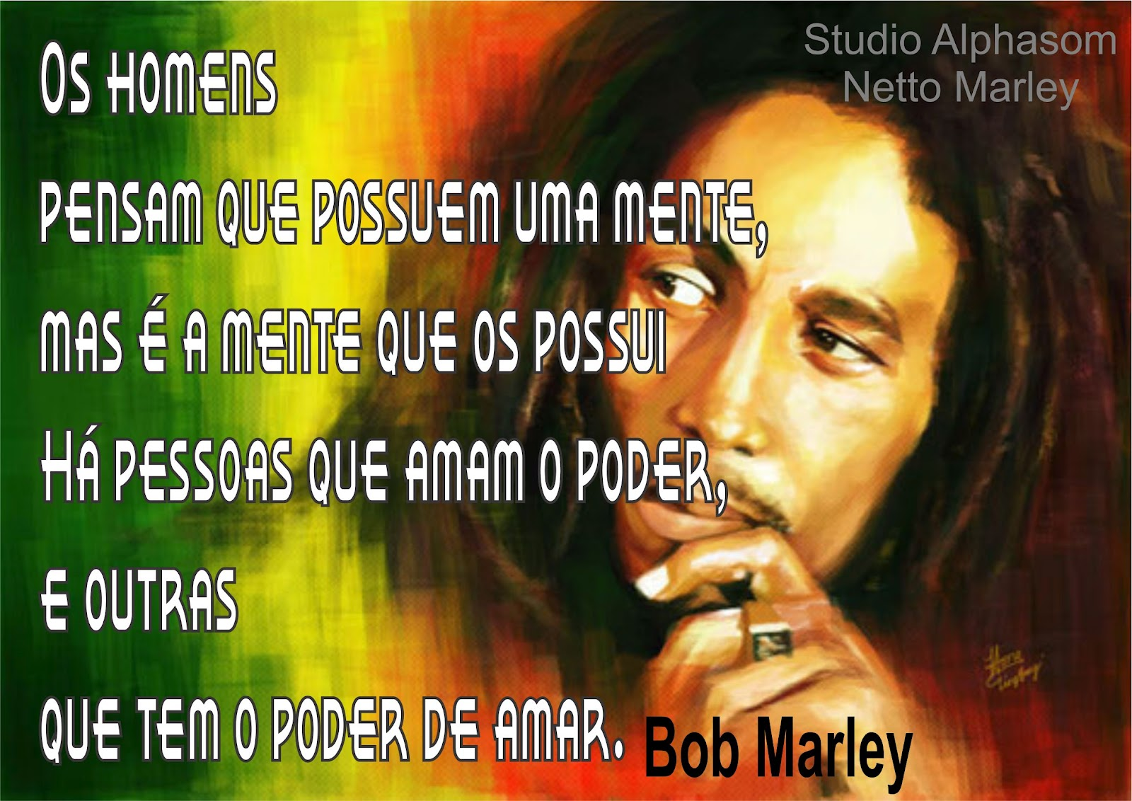 Frases do Bob Marley de paz - Portal ZUN