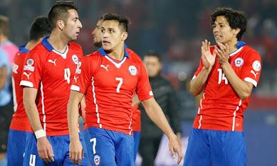 Chile y Perú juegan por el pase a la gran final de la Copa América 2015