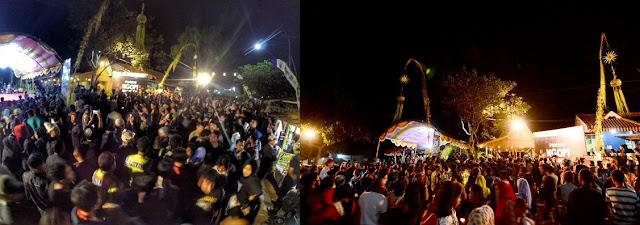 Festival Ngopi Sepuluh Ewu Desa Kemiren Banyuwangi.