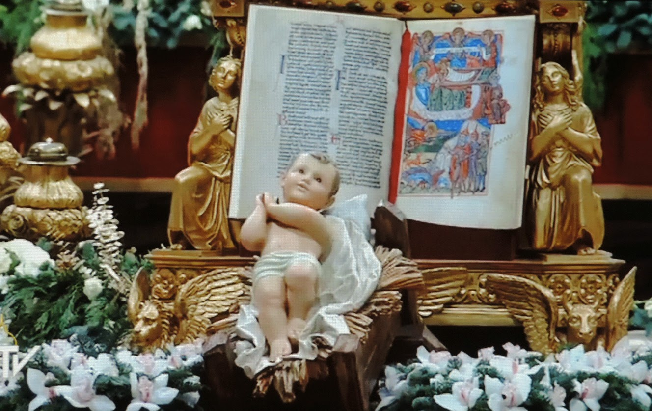 father julian u0027s blog baby jesus at the vatican