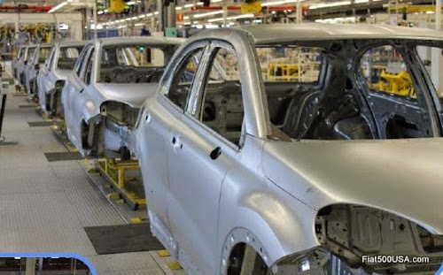 Fiat 500X Production at Melfi Factory