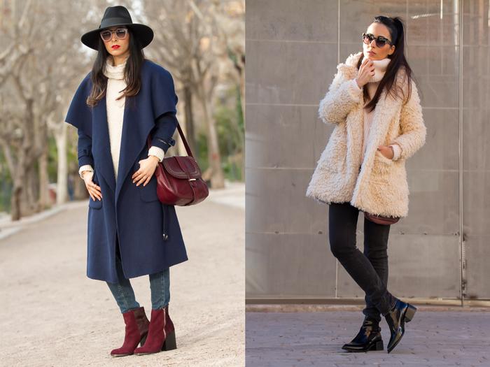 Looks urbanos femeninos chic de blogger de Valencia