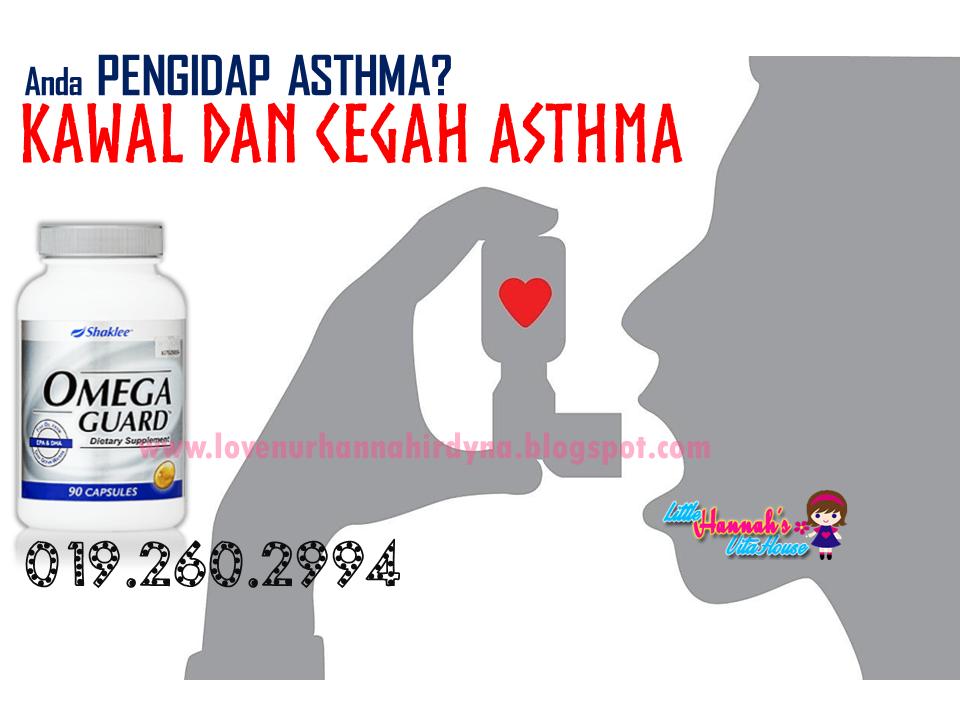 ubat asthma shaklee