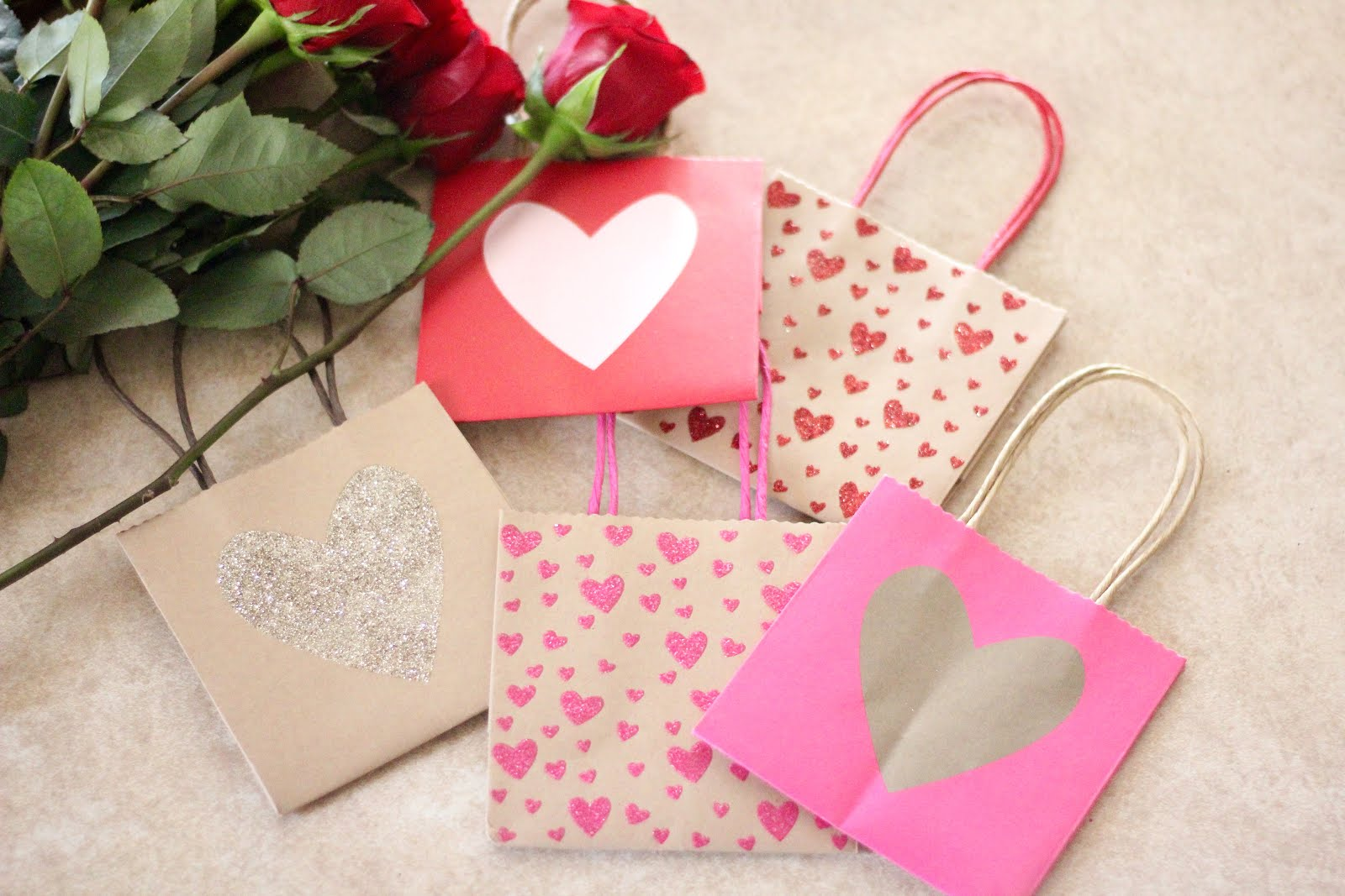 Valentine\'s Goody Bags - Brave Blonde