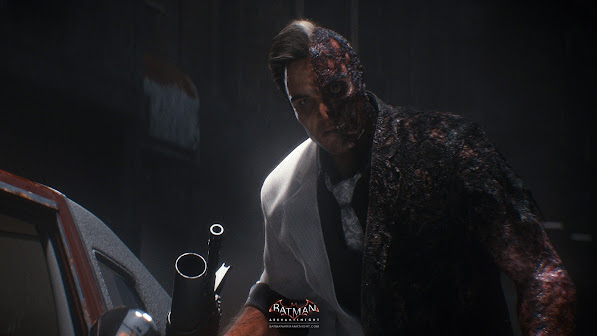 Two Face Arkham Knight Game 2v