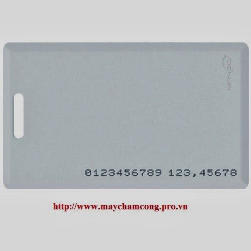 Thẻ cảm ứng mango 1.8mm có 18 số ID