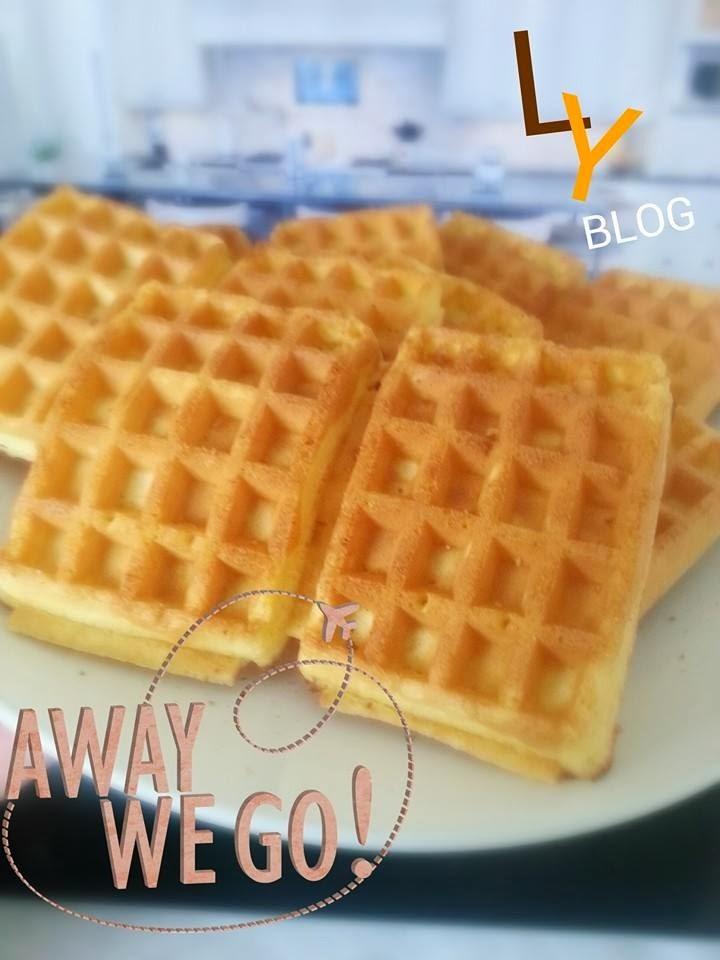 李尤: 窩夫[食譜] ~ Classic Waffles [Recipe]