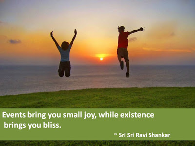 Quotes By Sri Sri Ravi Shankar on Joy