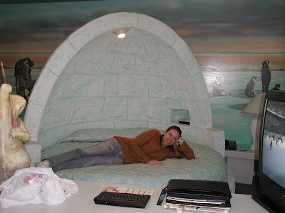 Fantasyland Hotel Igloo room
