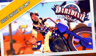 Daredevil Rider FULL Android Game Download,amazing stunts Game