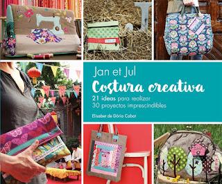 Libro Costura Creativa con bolsos de patchwork