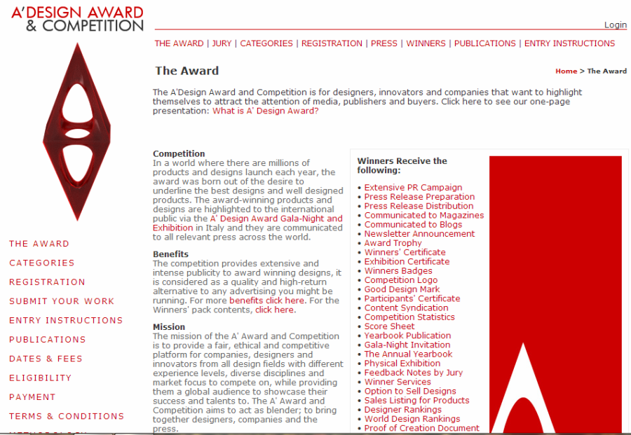 Mreza Kreativnih Ljudi A International Design Award Competition