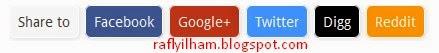 Cara Pasang Tombol Share Di Blogger