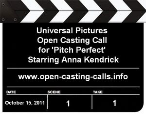 Baton Rouge Pitch Perfect Open Casting Call