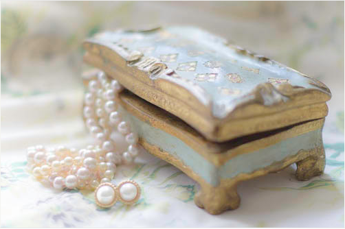 Fine art photo of Florentine Jewelry Box