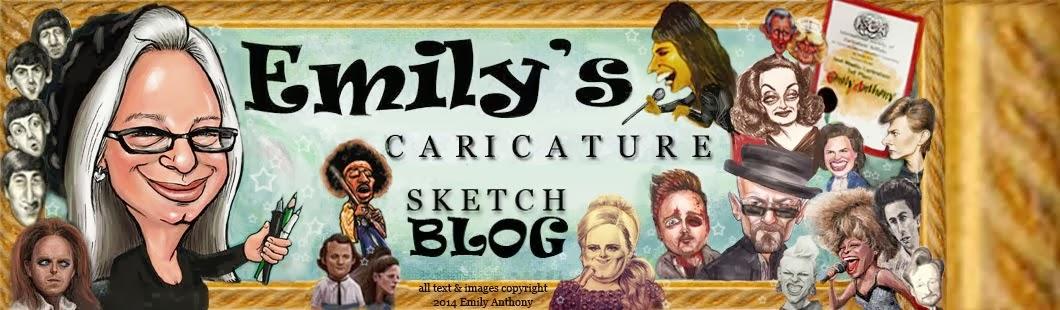 Emily's Caricature Sketchblog