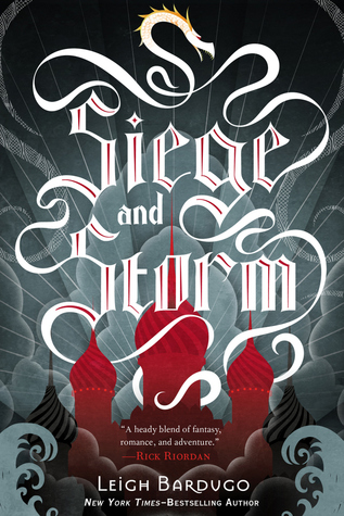 Siege and Storm by Leigh Bardugo Cover