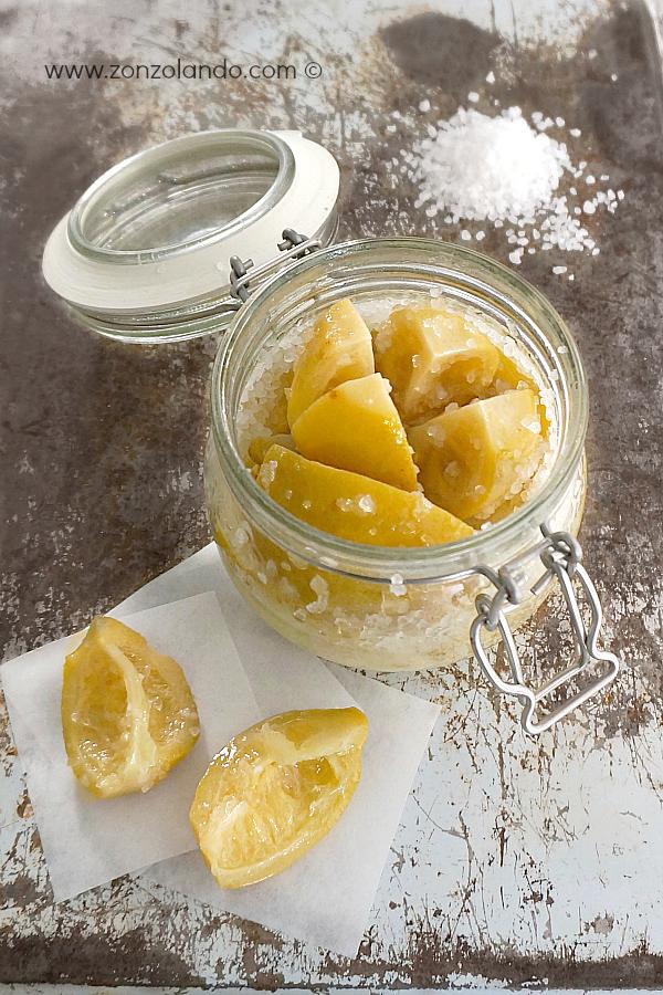 Ricetta per preparare i citrons confits, i limoni sotto sale, preserved lemon recipe