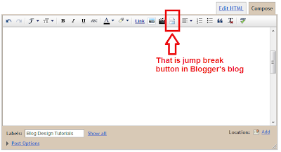 Blogger Jump Break