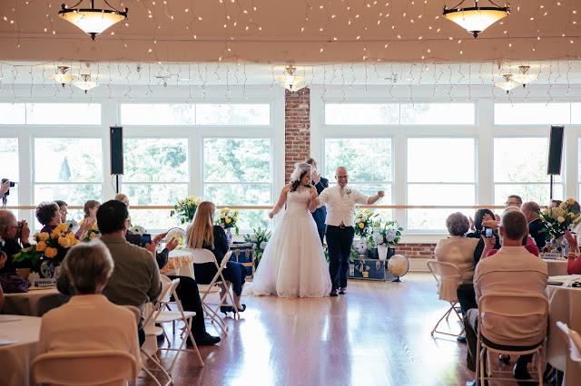 party wedding dress beautiful lights flowers