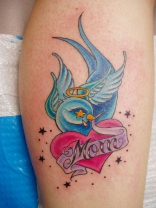 sparrow tattoo. Nice lil sparrow tattoo done