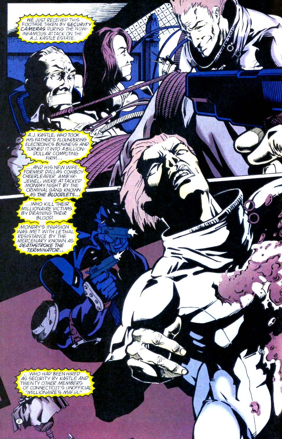 Deathstroke (1991) Issue #60 #65 - English 3