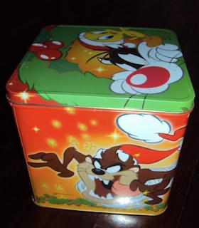 scatola di latta pandoro battistero