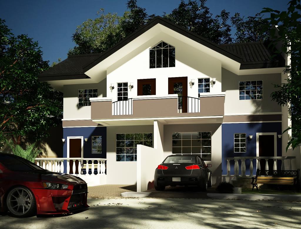 Modelos de Casas. Diseños de Casas y Fachadas: Diseños de Casas en 3D