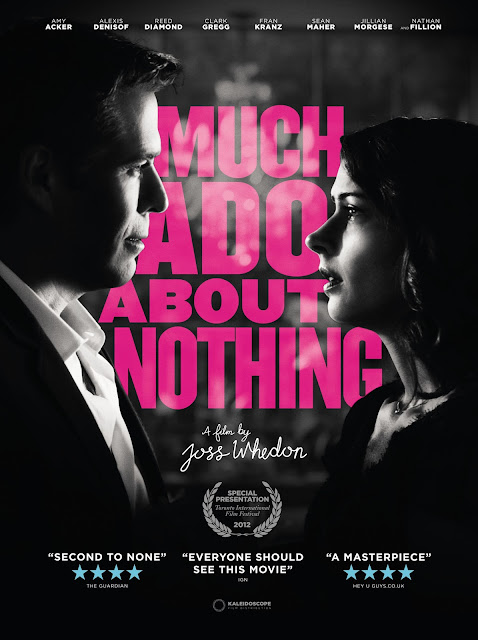 Much Ado About Nothing poster. Copyright by respective production studio and/or distributor. Intended for editorial use only.