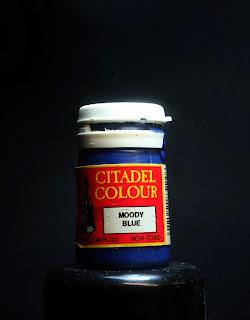 Bote de pintura de Moody Blue de Citadel Colour