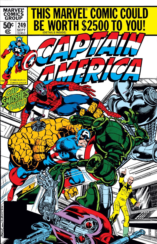 Captain America (1968) Issue #249 #164 - English 1