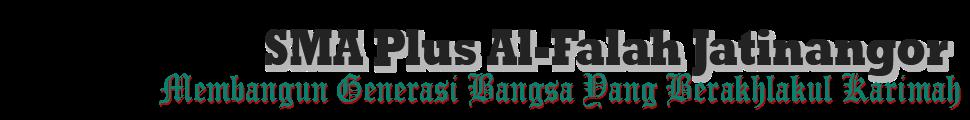 SMA PLUS AL-FALAH