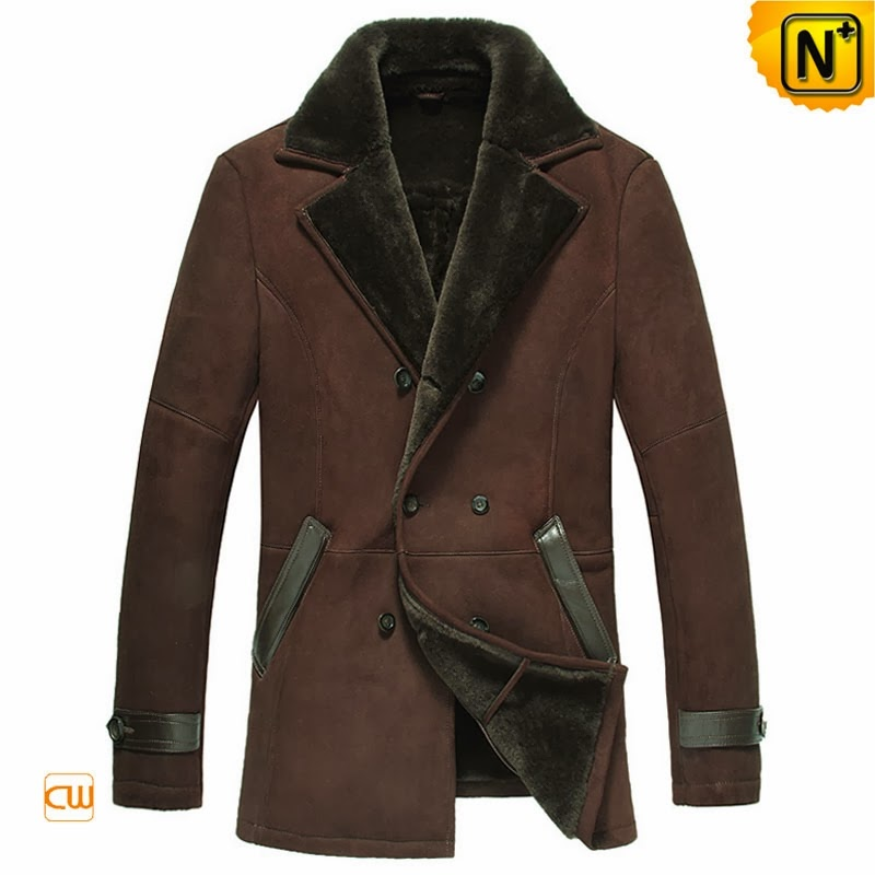 Sheepskin Leather Coat