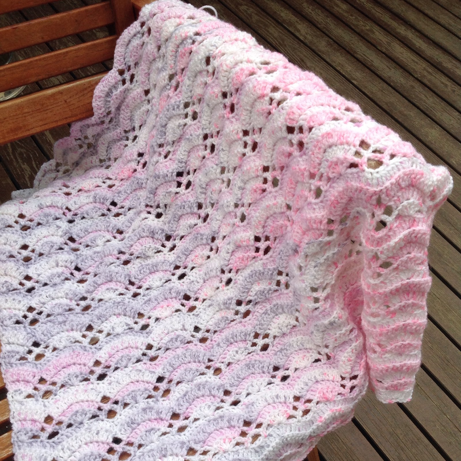 Shell Afghan Crochet Pattern New Design Ideas