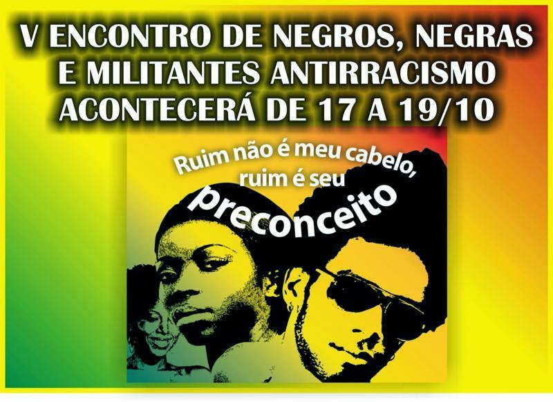 V ENCONTRO DE NEGRAS, NEGROS