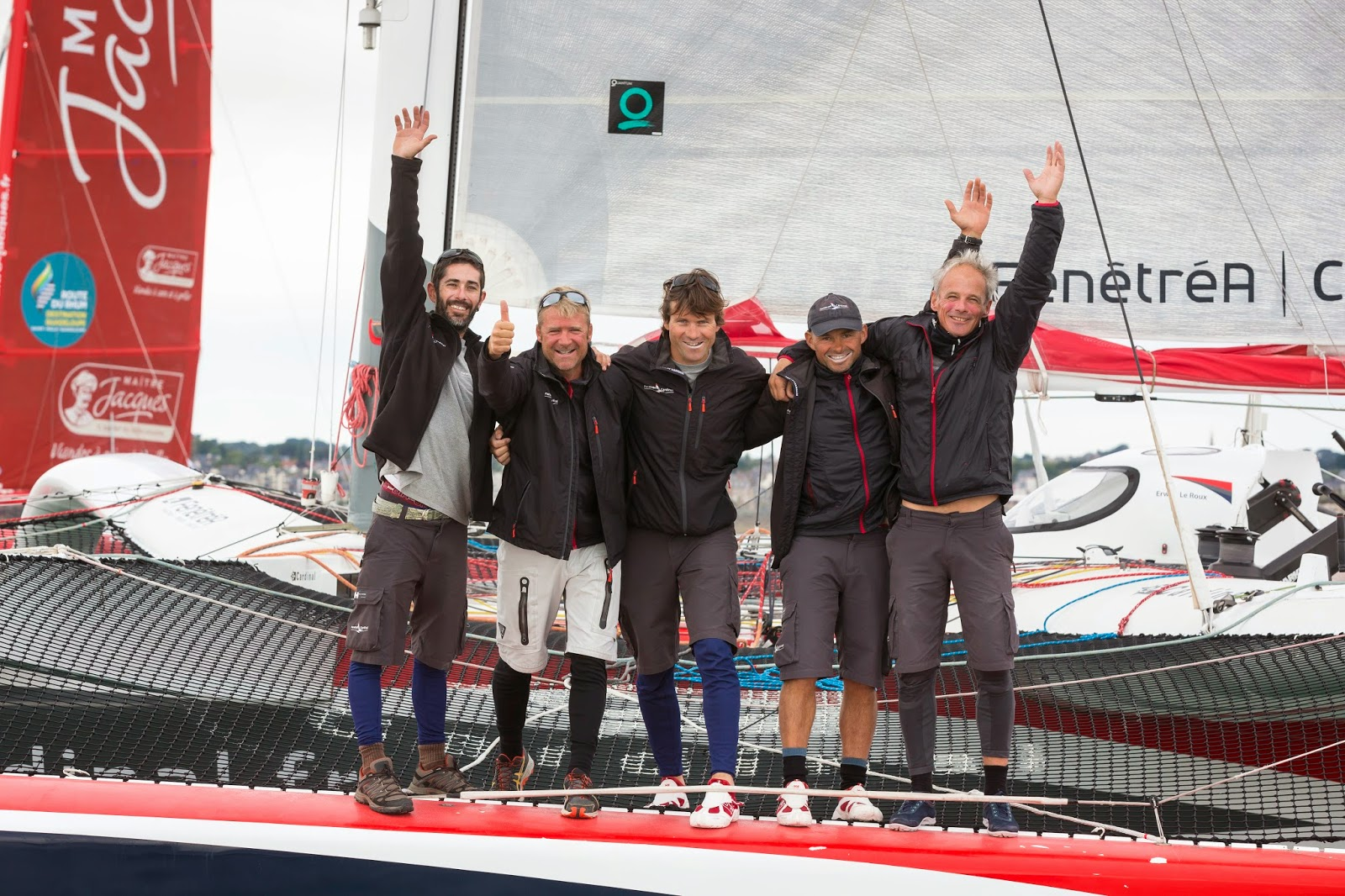 """Erwan Le Roux : """"Après ce Trophée en équipage, place à la qualification pour la Route du Rhum."""""""