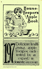 "From 1910...<br>The ""Housekeepers Apple Book"""