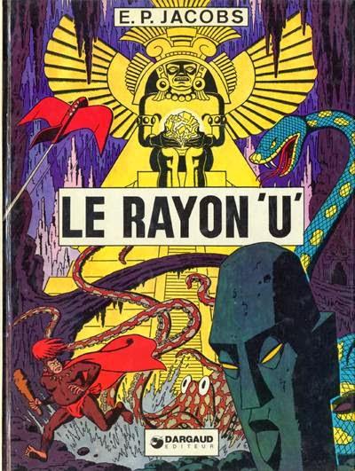 Couverture Le RAyon U de Jacobs au Lombard