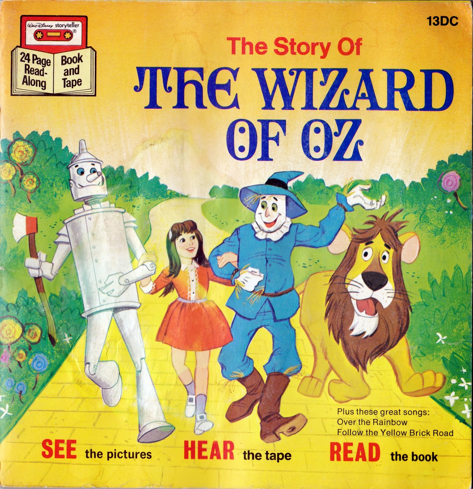 Vintage books for the very young the wizard of oz