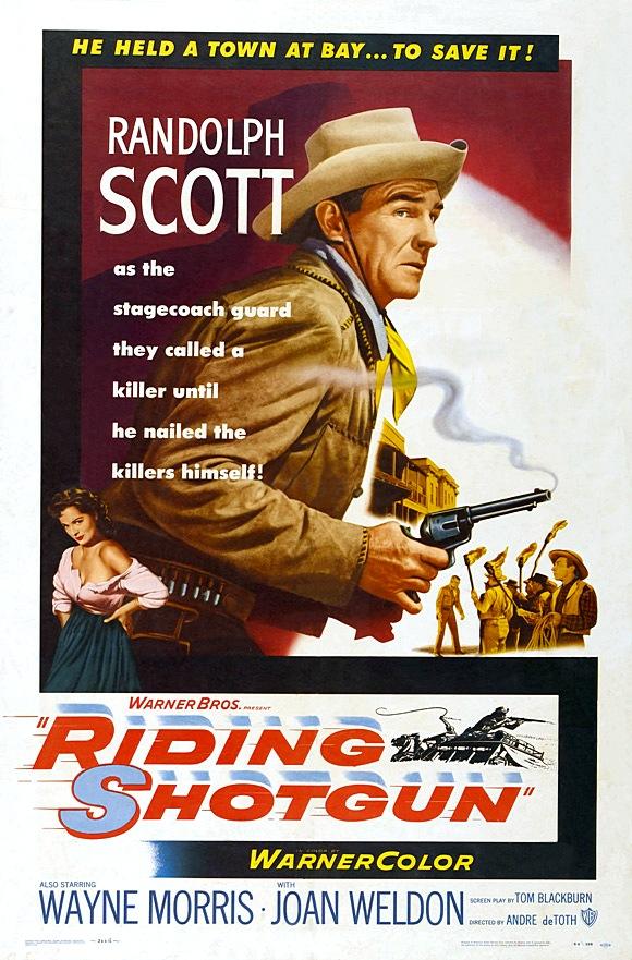 Westerndouble Riding Shotgun 1954 Randolph Scott