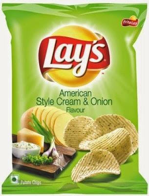 American Style Cream and Onion Lays