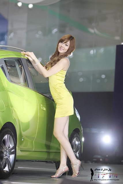Race Queen Hwang Mi Hee