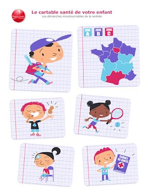 Clod illustrations Priorité Santé Mutualiste, site de la Mutualité Française