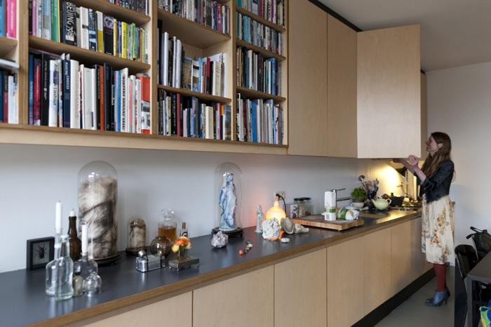 Amie Dicke Amsterdam apartment kitchen